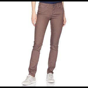 prAna Kayla jeans.  Size 12. Plum color.